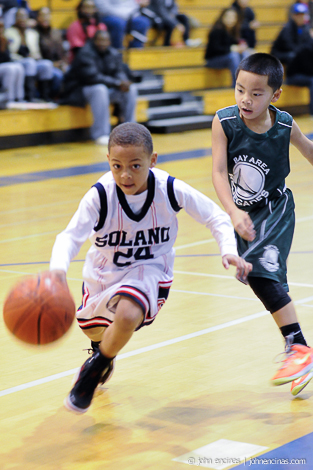 3rd grade Bay Area Renegades vs Solano Select White