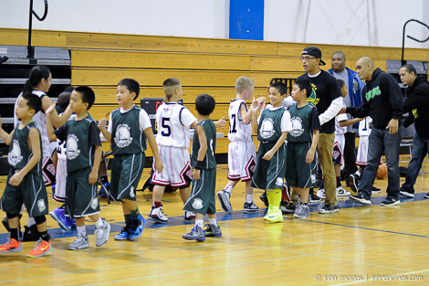 Image © 2012 John Encinas || Dec 23 2012 || Vallejo, CA: 3rd grade Bay Area Renegades vs Solano Select White held at Hogan Middle School