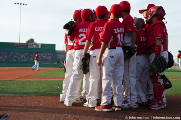9u Solano Nationals take to the field for the first time