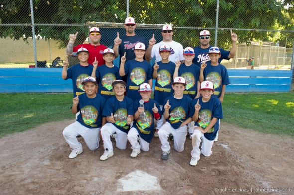 10u Championship Game: Solano Nationals vs Chico Aces